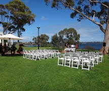 Blue Water Grill Ceremony