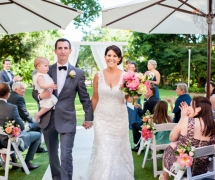 Lamonts Bishop House Garden Wedding