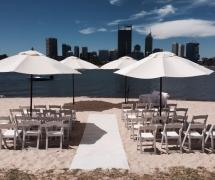 South Perth Foreshore Wedding