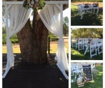 Upper Reach Winery Wedding Ceremony
