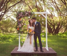 Solitaire Homestead Wedding