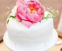 Cake on wine barrel Lamonts Bishop House