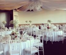 Frasers Restaurant Elegant Wedding