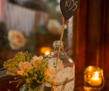 Large Bottles and Crystal Vases