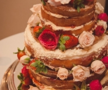 Naked Cake Old Swan Brewery Wedding