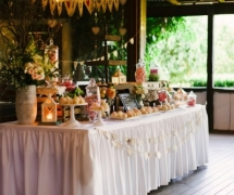 Rustic Dessert Table Chaple Farm