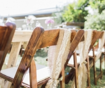 Rustic Wedding Chairs