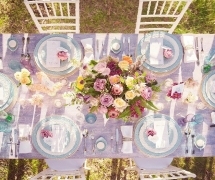Solitaire Homestead Wedding Table