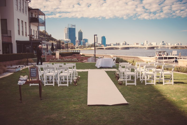 Old Swan Brewery Wedding Ceremony