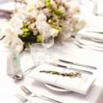 White Napkins Hire