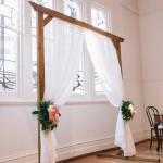 Brown Wedding Arch