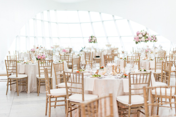 Elegant Gold Tiffany Chairs