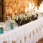 Gathered Table Skirting