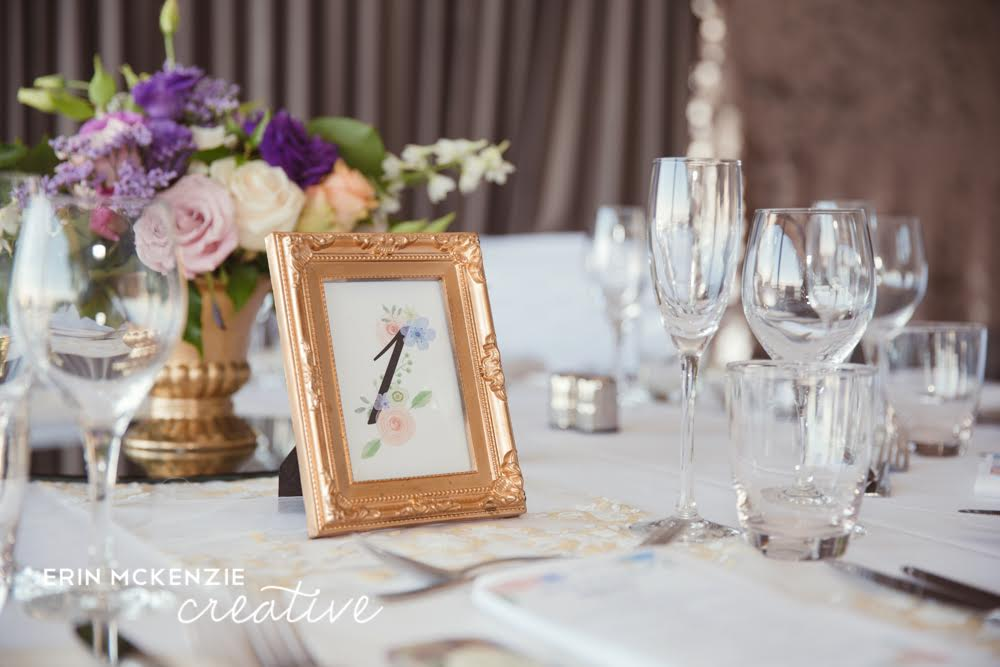 Gold Frame – Small | Wedding Day Flair