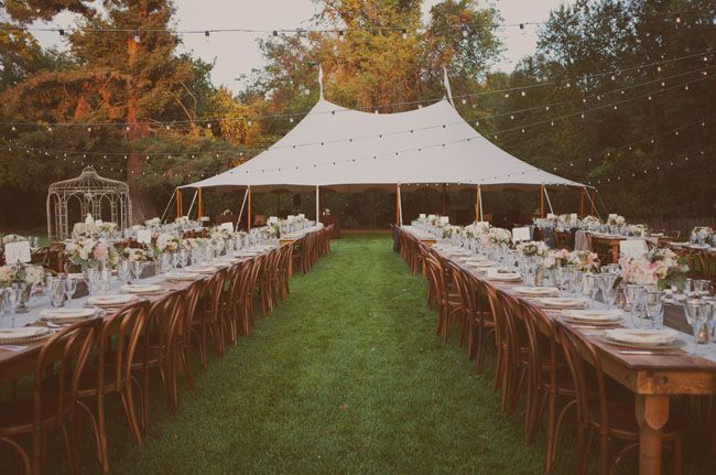 Outdoor Wedding Brown Bentwoods