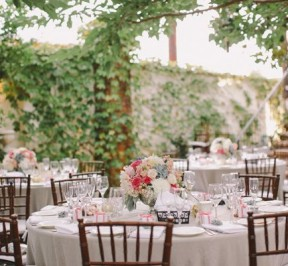 Romantic and Classic Outdoor Wedding