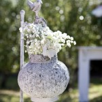 Shabby Bird Shepards Hook and Lantern