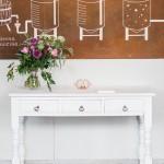Vintage White Table
