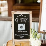 White Washed Small Chalkboard