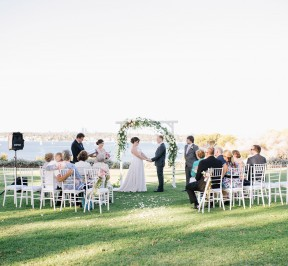 Bayview Park Mosman Park Wedding Ceremony