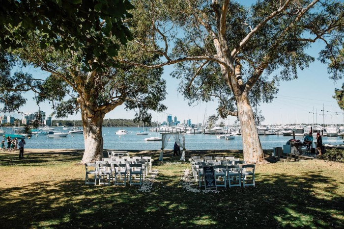 Matilda Bay Restaurant Wedding