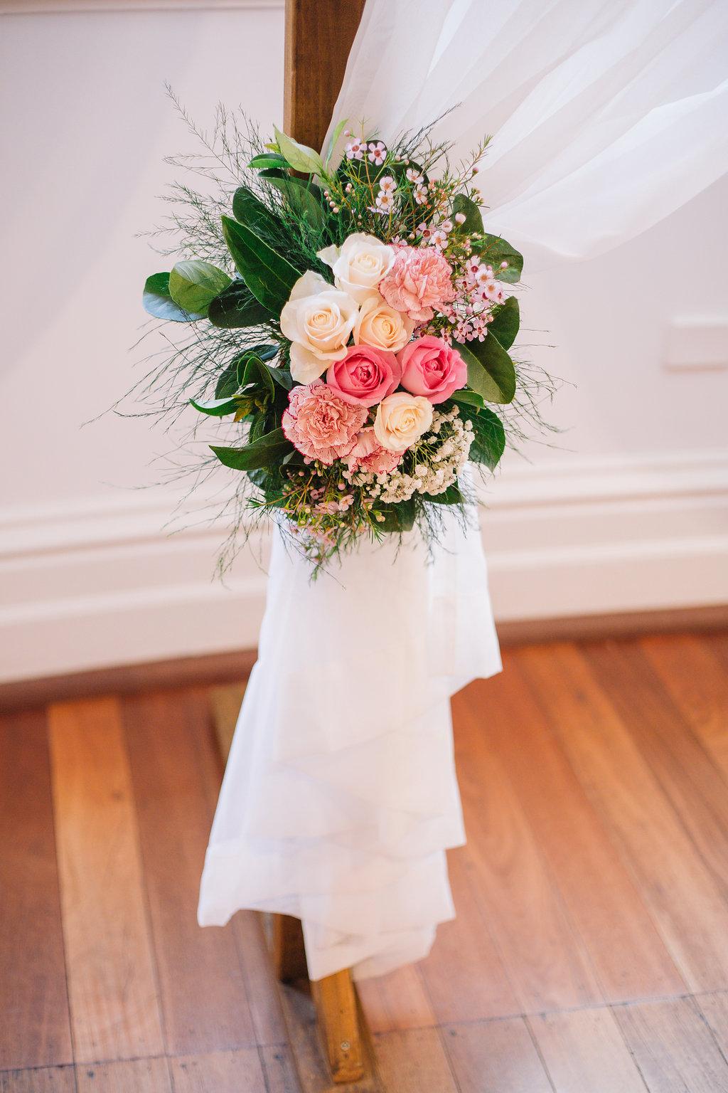 Blush Arch Flowers
