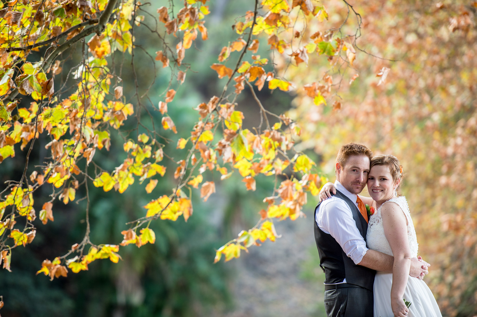 Perth Autumn Wedding