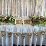 Gold Sequin Bunting