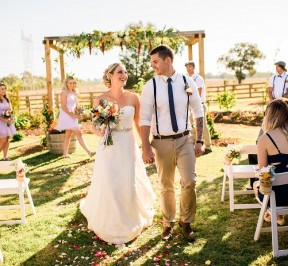 Baldivis Farm Stay Wedding