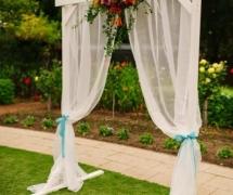 Fiesta Style White Arch