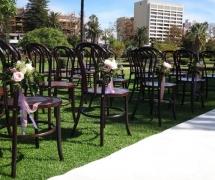Queens Garden Vintage Ceremony