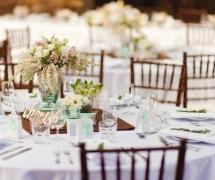 Blush Mint Wedding Chaple Farm